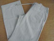 Straight Leg Linen Petite NEXT Trousers for Women