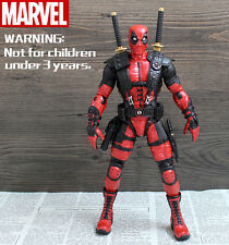 "CRAZY TOYS X-men Deadpool Wade Wilson 10"" Statue Action Figure movable Joints"