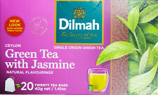 single origin 100% pure Dilmah ceylon green tea 20 bags