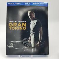 Gran Torino (Blu-ray Disc, 2009, 2-Disc Set) w/ Slipcover!