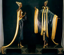 Erte Art Deco Bronze Sculpture Ready for the Ball Limited Edition Statue