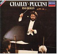 Puccini: Kompositionen Orchesterstudien / Riccardo Chailly,Rso Berlin - LP Decca