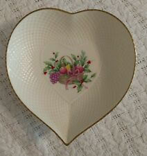 mikasa christmas spirit heart shaped bowl 82098