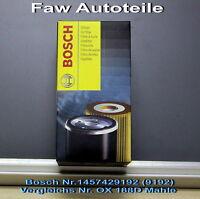 1 x Ölfilter Bosch P 9192 ,1457429192(OX 188D) Skoda Fabia 1,4TDI Superb 2,0 TDI