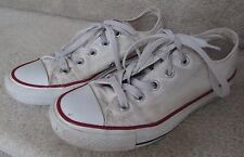 CONVERSE All Star Unisex Low White Sneakers Men 3 Women 5 M7652