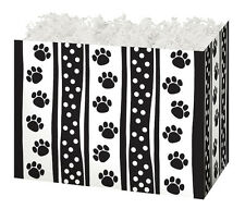 PAWS & DOTS GIFT BOX decorative base gift baskets lg