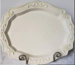 Princess House Pavillion  large Serving Plate 1216