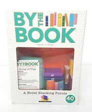 BY THE BOOK A Novel Stacking Puzzle Game 3D Balance Challenge With Wooden Books