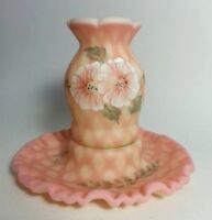 FENTON THE MUSEUM COLLECTION 2002 HANDPAINTED IN USA BY L.EVERSON FOUNTAIN
