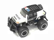 Playtek PT2227 1:43 R/C Police Car Remote Control, Black/White