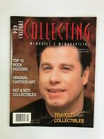 John Travolta Signed Autographed Collecting Magazine March 1998