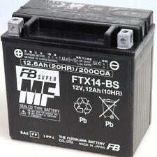 HONDA GL Valkirye F6C (SC34) 1500 1997-2001 BATTERIE FTX14-BS 12V/12.0AH
