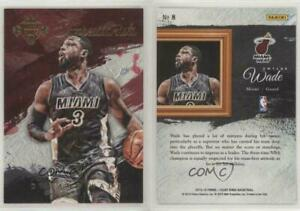 2015-16 Panini Court Kings Expressionists Dwyane Wade #8