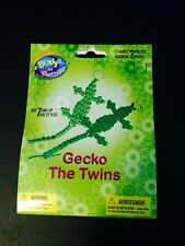 Do It Yourself Craft Beads Collectable Key Chains Gecko The Twins