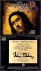 Helmuth RILLING Signed BACH Messe h-moll BWV232 Arleen Auger Hamari CBS 2CD Mass