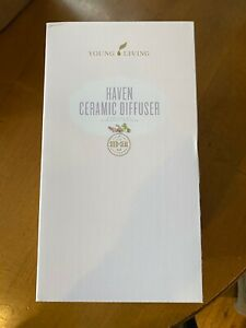 Young Living Haven Diffuser Bundle, 5ML Citrus Fresh and 5ML Peppermint - New