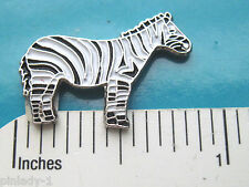 Zebra - hat pin , lapel pin , tie tac , hatpin Gift Boxed