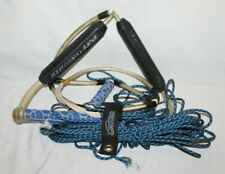 Straight Line Black Blue Handle Water Ski ProLine Rope Technology Sports Nice