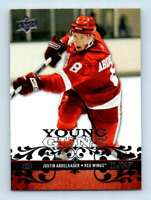 2008-09 Upper Deck Young Guns Justin Abdelkader RC #211