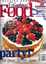 Fabulous Food Magazine Seasonal Recipes Street Parties Lunch Cookies Healthy