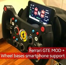 Thrustmaster Ferrari GTE to GT3 Style MOD + Smartphone holder Simply MOD Wheel