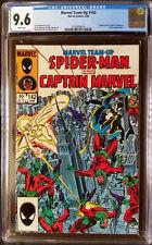 Marvel Team-Up (1972 1st Series) #142 Spider-Man Captain Marvel CGC 9.6