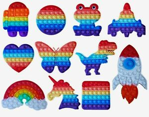 Push Pop Fidget Kids Toy Popper Bubble Special Needs Classroom Sensory Autism