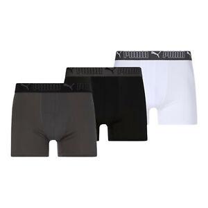 PUMA Men's Training Fit Boxers [3 Pack]