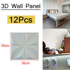 12pcs/set PVC 3D Wall panel Decorative Wall Ceiling Tiles Wallpaper Waterproof