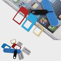 5-in-1 SIM Card Converter Set Nano to Micro Standard Adapter 1X 2X 3X 4X 5X
