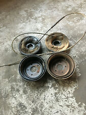 FORD 9 INCH DIFF F100 BACKING PLATES CABLES DRUMS USED