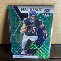 2020 Panini Mosaic Cole Kmet #273 NFL Debut (Green Prizm) Chicago Bears!