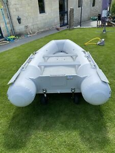 ZODIAC CADET 325 FR AIR FLOOR  INFLATABLE BOAT With Launch Wheels