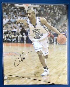 Vince Carter, North Carolina UNC, Signed Autographed 16x20 Photo Fanatics COA