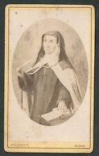 Foto Albumina de Santa Teresa andachtsbild santino holy card santini