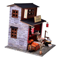 1:24 Scale Furniture Doll House Wooden Miniatures DIY Furniture Kit Assemble
