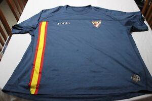 Camiseta OFICIAL VINTAGE SEVILLA FC MARCA JOMA TALLA XXL MUY COTIZADA  SHIRT