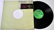 """Philippines STEPHEN DUFFY I Love You 12"""" EP Record"""