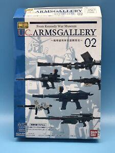 2006 Bandai Mobile Suit In Action U.C. Arms Gallery 02 Gundam Weapons Guns