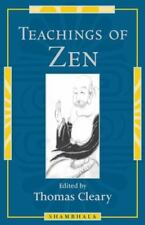 Teachings of Zen by Thomas Cleary (1997, hardcover)