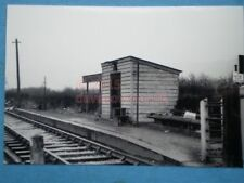 PHOTO  KINGSTON CROSSING HALT STATION 1957 WATLINGTON AND PRINCES RISBOROUGH RAI