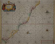 Brasilien - Brazil - H. Doncker 1659 - Paskaert van Brasilia ... -Rio de Janeiro
