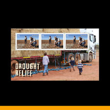 2019 Drought Relief Special Gummed Mini Sheet ex Annual Collection MUH