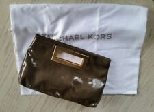 Michael Kors Berkley Patent Leather Clutch bag with Dustbag
