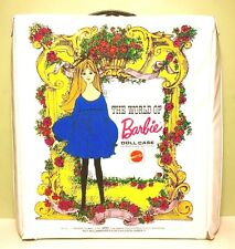 Vintage 1968 The World Of Barbie Doll Case