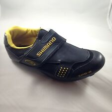 Shimano SPD-R SH-R072Y Mens Black Cleats Cycling Bicycling Shoes Sz 40 Sz 7