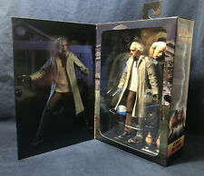 "NECA Back to the Future Ultimate ?DOC? BROWN 7"" Scale Action Figure *New in Box"