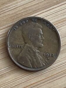 1912-S San Francisco Mint Copper Lincoln Wheat Cent