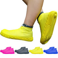 Recyclable Silicone Overshoes Rain Waterproof Shoe Covers Boot Cover Protect HOT