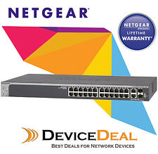 NETGEAR S3300-28X - ProSAFE 24-port Gigabit Stackable Smart Switch (GS728TX)